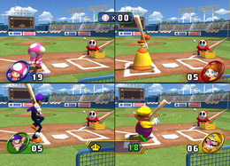 Swing Kings from Mario Party 8