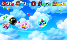 Bumper Bubbles from Mario Party: The Top 100