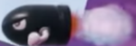 A Bullet Bill in Yoshi's Crafted World.