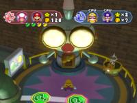 The Shuffle-o-tron event in E. Gadd's Garage in Mario Party 6.