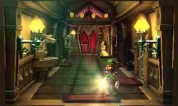 The East Corridor in Luigi's Mansion: Dark Moon