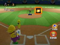 Mario Superstar Baseball version of Bob-omb Derby