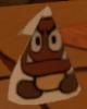 A Paper-Cone Goomba from Paper Mario: Color Splash.