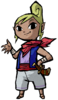 Tetra's Spirit sprite from Super Smash Bros. Ultimate