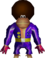 Chunky Kong's Disco outfit model, from Donkey Kong 64.