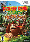 Offical American boxart of Donkey Kong Country Returns.