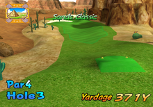 Hole 3 from Shifting Sands.