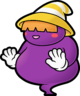 Artwork of Marilyn from Paper Mario: The Thousand-Year Door