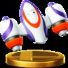 Rocket Belt trophy from Super Smash Bros. for Wii U