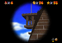 Whomp's Fortress Star 3