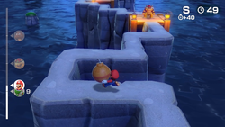 """Super Mario Party's """"Isthmus Be The Way"""" minigame."""