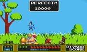 Duck Hunt stage in Super Smash Bros. for Nintendo 3DS.