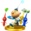 Alph trophy from Super Smash Bros. for Wii U