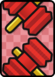 A Big Eekhammer ×2 Card in Paper Mario: Color Splash.