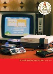 North American box art of Super Mario History 1985-2010, included in Super Mario All-Stars Limited Edition