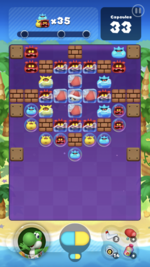 Stage 118 from Dr. Mario World