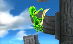 A Flage in Super Smash Bros. for Nintendo 3DS