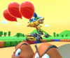 The icon of the Larry Cup challenge from the 2019 Winter Tour and the Diddy Kong Cup challenge from the Sydney Tour in Mario Kart Tour