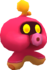 Rendered model of the Octoguy enemy in Super Mario Galaxy.