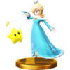 Rosalina & Luma's trophy render from Super Smash Bros. for Wii U