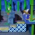 Option in a Play Nintendo opinion poll on Yoshi's Crafted World stages. Original filename: <tt>1x1_PLAY_YCW_Poll_01_Answer_4_Ninjas_V1.6ef5f3152e16d0ba.jpg</tt>