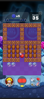 Stage 508 from Dr. Mario World
