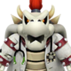 Sprite of Dr. Dry Bowser from Dr. Mario World