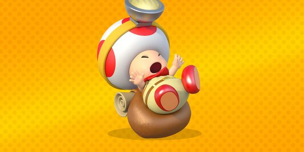 Banner for a Play Nintendo opinion poll on the reason for the weight of Captain Toad's backpack. Original filename: <tt>2x1-backpack_poll.0290fa9874e6c2e6db1c3f61b1e85eb024429302.jpg</tt>