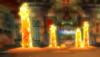 A Lava Geyser from Mario Kart Wii