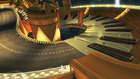 A view of Music Park, a retro course in Mario Kart 8.