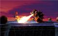 Mario and Bowser Fire Artwork (alt 5) - Super Mario 64.png