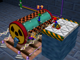 Shock, Drop or Roll from Mario Party 2.