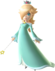 Super Mario Galaxy promotional artwork: Rosalina with her wand held.