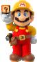 Official artwork of Builder Mario from Super Mario Maker.