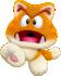Artwork of Cat Goomba from Super Mario 3D World.