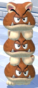 A Cat Goomba Tower in Bowser's Fury