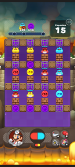 Stage 416 from Dr. Mario World