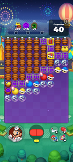 Stage 660 from Dr. Mario World