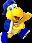 Blue Koopa (Freerunning) from Mario Kart Tour