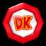 A Team token of team Donkey Kong from Mario Kart Tour