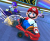 The icon of the Donkey Kong Cup challenge from the 2019 Paris Tour in Mario Kart Tour