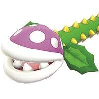 A Piranha Creeper from Super Mario 3D World.