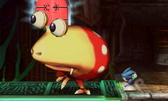 A Red Bulborb in Super Smash Bros. for Nintendo 3DS