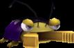 Rendered model of the Mandibug enemy in Super Mario Galaxy.