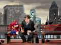SMO Concept Art Metro Kingdom (Bench Friends).png