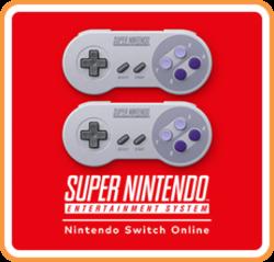Logo of Super Nintendo Entertainment System - Nintendo Switch Online