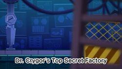 Dr. Crygor's Top Secret Factory