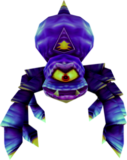 The Giant Spider from Donkey Kong 64.