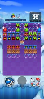Stage 1005 from Dr. Mario World