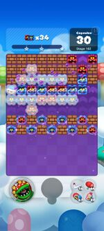 Stage 162 from Dr. Mario World since March 18, 2021